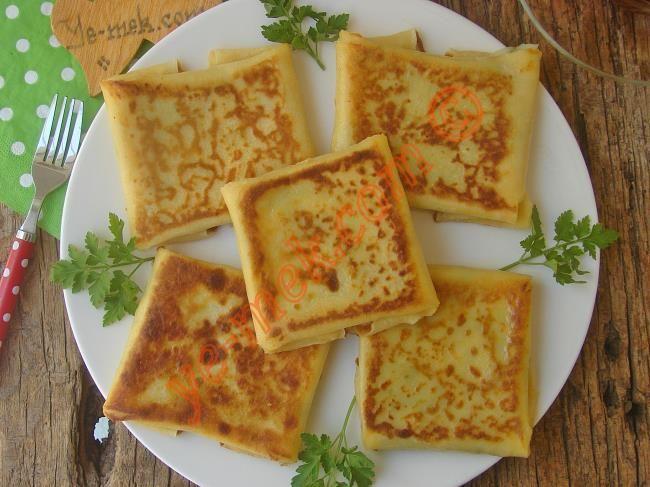 Peynirli Krep Böreği Resimli Tarifi - Yemek Tarifleri