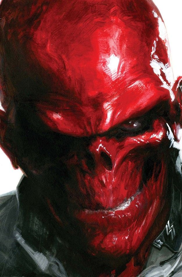 Red Skull by Gabriele Dell'Otto