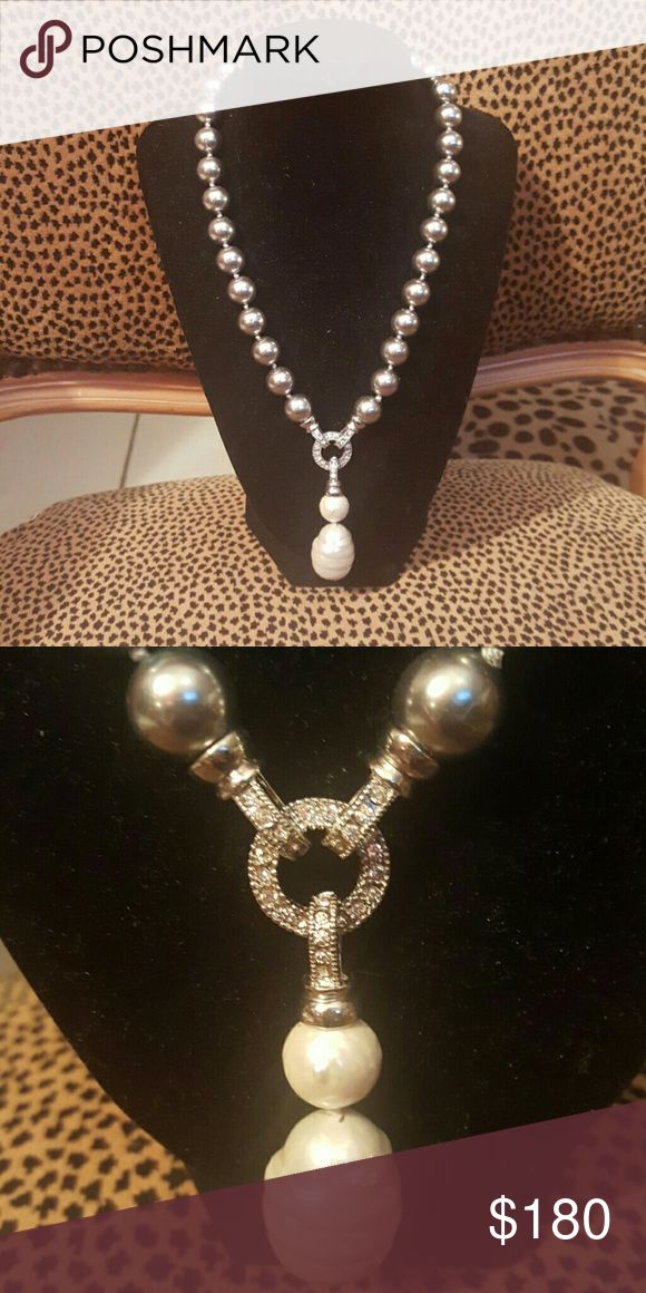 Real pearl necklace absolutely beautiful from Real pearl necklace from Monte negro Jewelry Necklaces