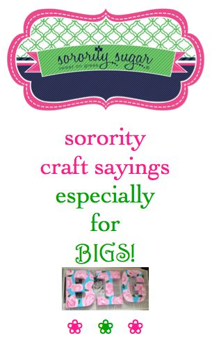 "Even though DIY Little canvases dominate the world of big/little crafting, many of the classic ""Little"" slogans can easily be changed to ""Big"" when needed. Here are examples of favorite Little sayings adjusted for a Big sister!"