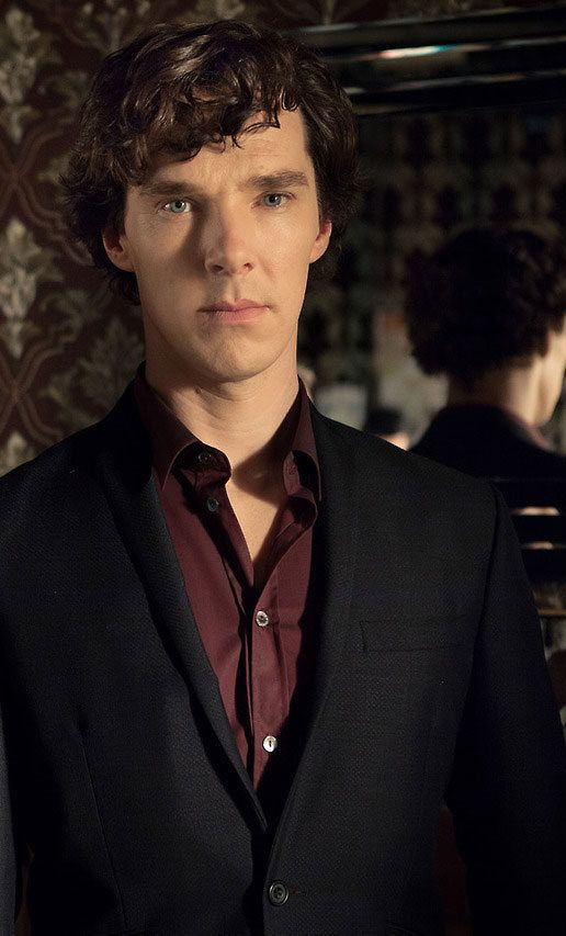 Sherlock... His face! One side's sad, one side's cold and hard.