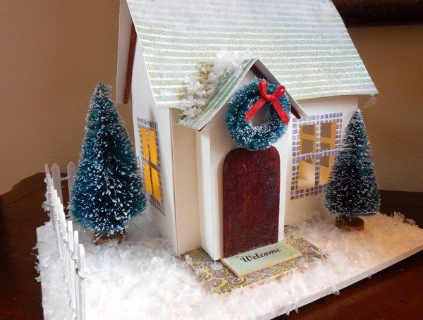 Paper Christmas Houses - Bing Images