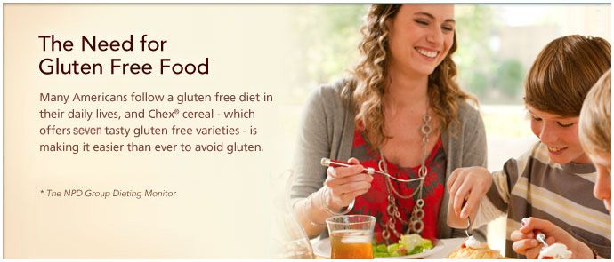 gluten free recipes from Chex.com