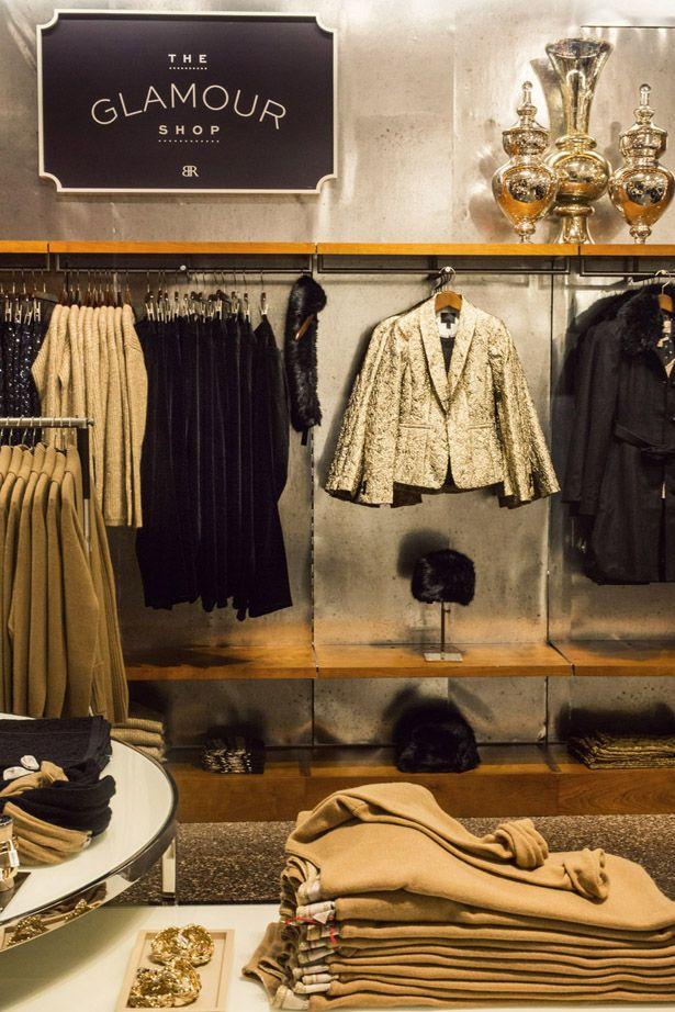 a walk in closet that looks like Banana Republic | New York City