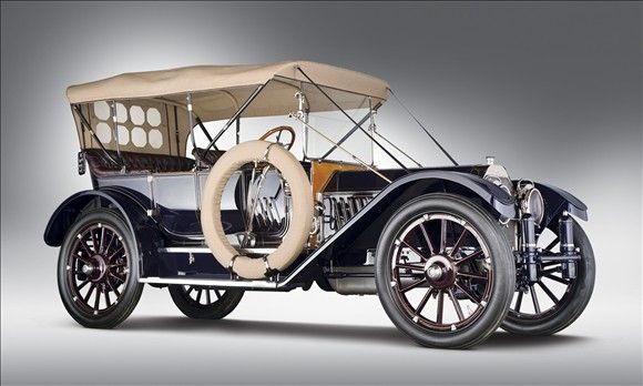 © RM Auctions  http://editorial.autos.msn.com/top-10-cars-of-2011-2012-classic-car-auctions  1912 Oldsmobile Limited 5-Passenger Touring