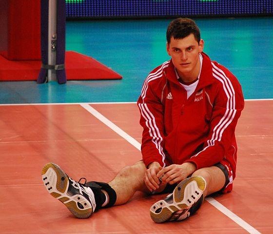 Zbigniew Bartman. Polish Volleyball Player.