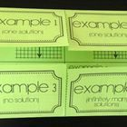 Graphing Systems of Linear Equations (Foldable)