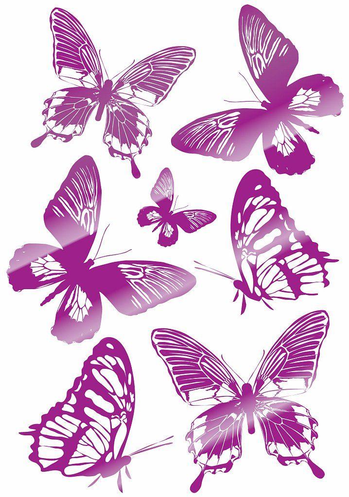 Розовые бабочки - наклейки для интерьера http://decoretto.ru/babochki-dekor-sten-babochkami/rozovyie-babochki/