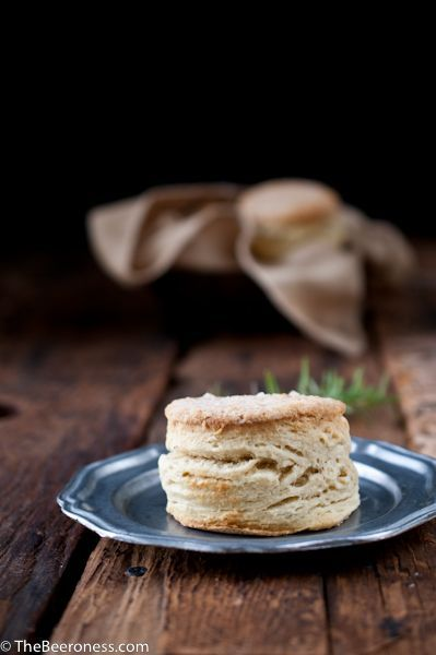 Rosemary Beer Biscuits with Stout Sausage Gravy Theres a better pic at ...