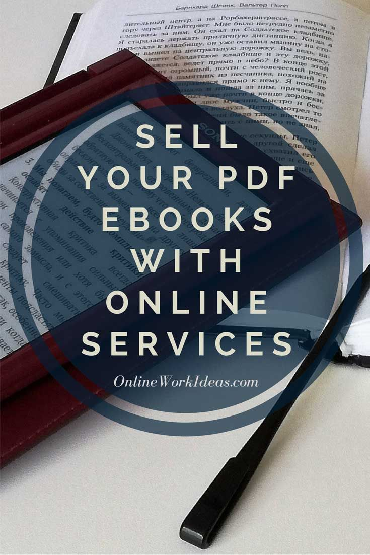 Define your sale price, upload your pdf ebook on online well established services and get 500.000 marketers to promote your digital products for a commission. 5' Read.