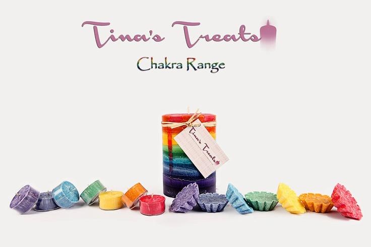 The absolutely divine Chakra Range    www.facebook.com/tinastreat