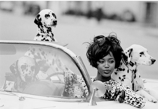 Naomi, Vogue 1990, Peter Lindbergh