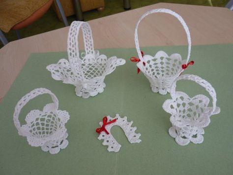 háčkované košíčky, Háčkovanie | Artmama.sk