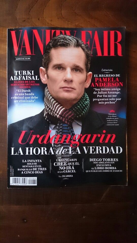 So excited to appear in the January edition of @VanityFair España - Special #Luxury! #magazine #craftsmanship