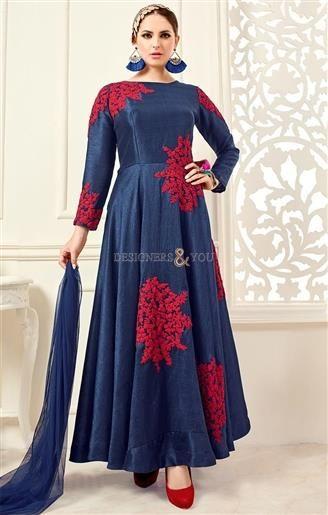Striking Blue Silk New Anarkali Salwar Suit With Price   #AnarkaliSuits #AnarkaliDresses #AnarklaiDressesDesigns #AnarkaliSuitsPatterns #AnarkaliSuitsDesigns #DesignersAndYou #FashionableAnarkaliDresses #FloralAnarkaliDresses FloralAnarkaliSuits #BeautifulAnarkaliDresses #BeautifulAnarkaliSuits #DesignerAnarkaliDresses #DesignerAnarkaliSuits #ModernAnarkaliSuits #ModernAnarkaliDresses
