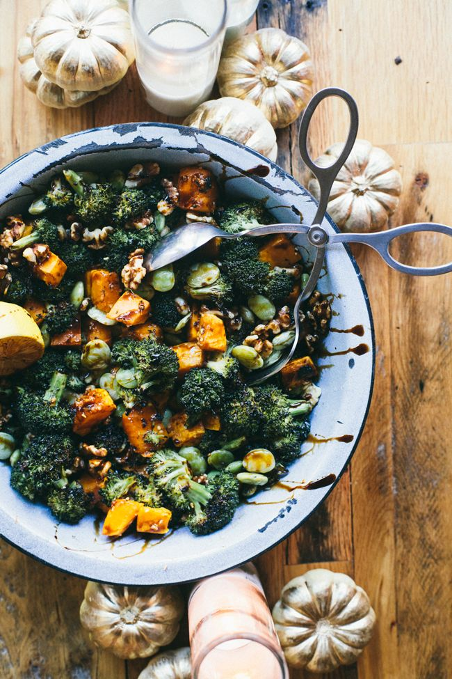 Balsamic Broccoli Thanksgiving Salad | Thanksgiving Thursday | Brewing Happiness