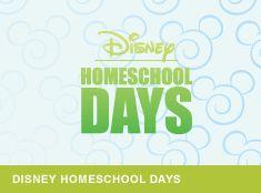 Disney Homeschool Days - someday we will do this!
