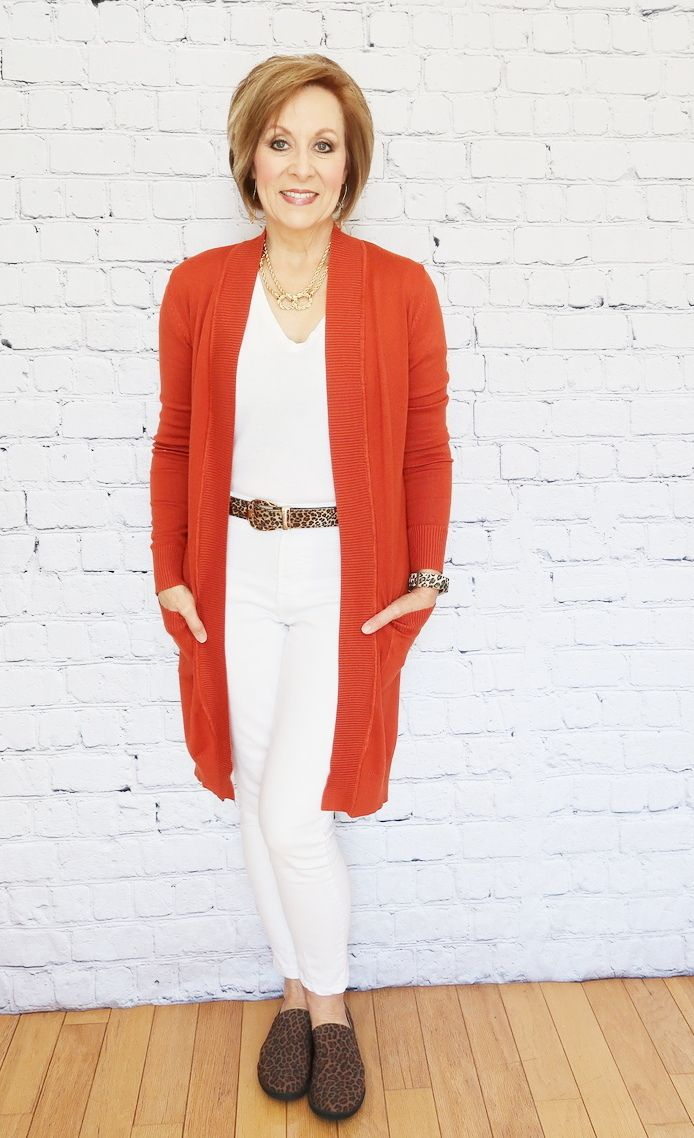 8e9416247e9 Two More Ways to Style a Pumpkin Duster Cardigan - Day  2