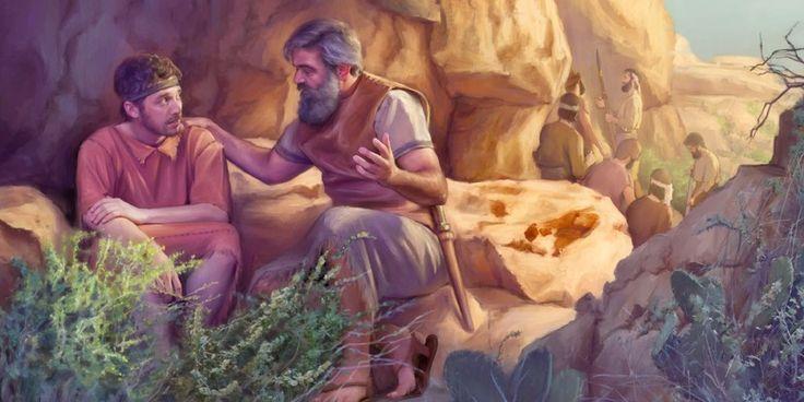 Jonatán habla con David