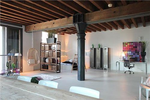 Loft woning in voormalig pakhuis in rotterdam droomhuis for Huizen rotterdam
