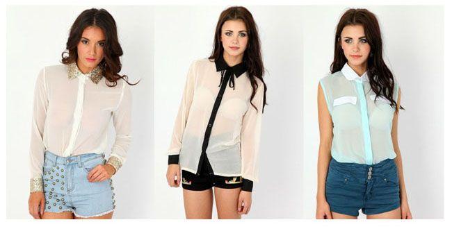 Sheer Shirts2013 Clothing, Summer Staples, Sheershirts21Jpg 650330, Sheer Shirts, Sheershirts21 Jpg 650 330, Fashion Obsession, Dreams Closets