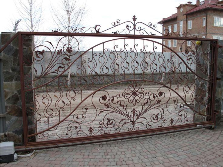 кованые ворота   Какие существуют ворота