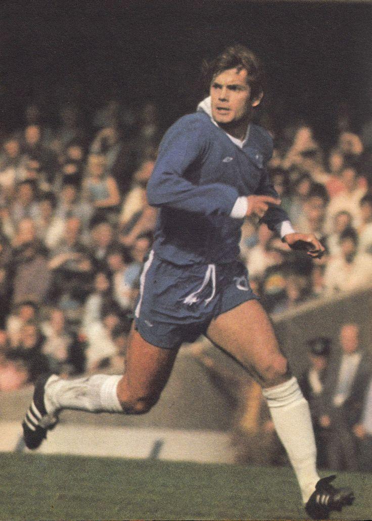 Circa 1977. Chelsea captain Ray Wilkins.