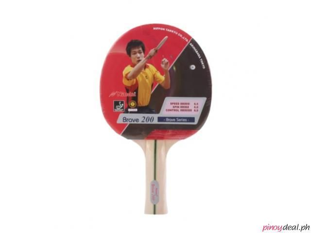 Nittaku Table Tennis Brave Fl200 Bat In 2020 Tennis
