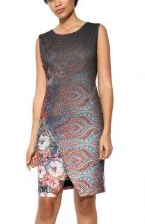 Desigual barevné šaty Tormenta - 2499 Kč
