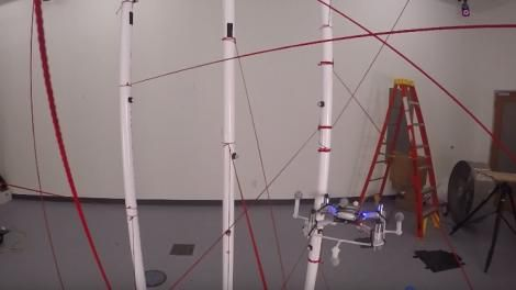Watch this drone bossing an obstacle course like it's no big deal