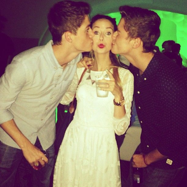 Zoe In a Harries sandwich...#jelly | Jack and Finn Harries ...