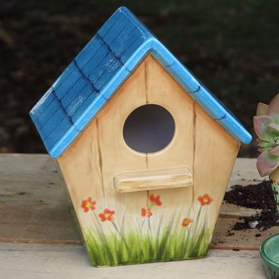 Show details for Home Tweet Home Traditional Birdhouse