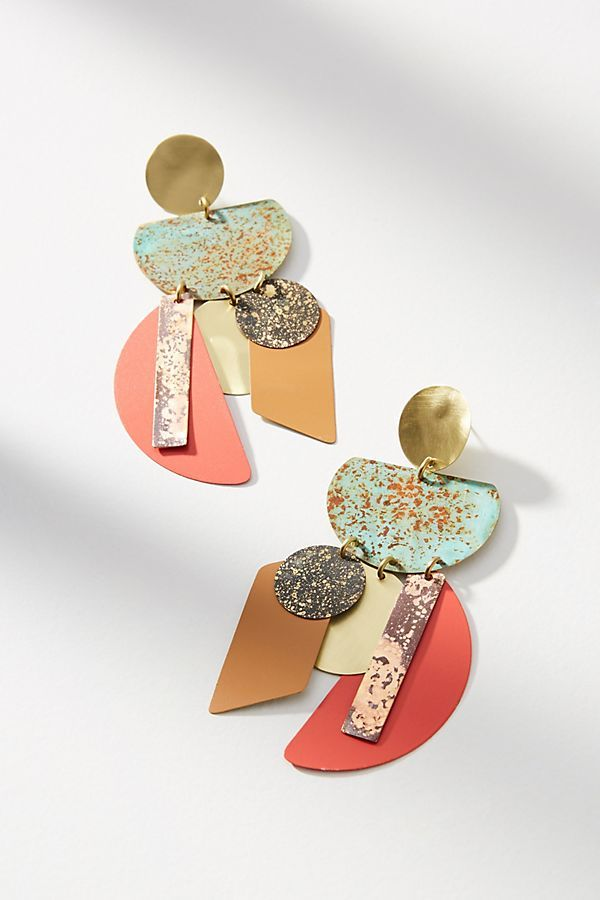 Good Fortune Chandelier Drop Earrings: Anthropologie. These are so fun and unusual