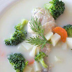 Zupa brokułowa z kurczakiem - na rosole | Kwestia Smaku