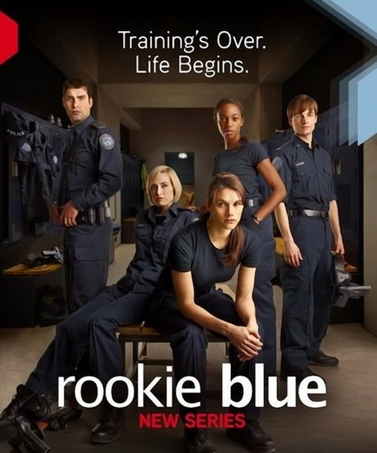 Rookie Blue--- watch it. Just do it.