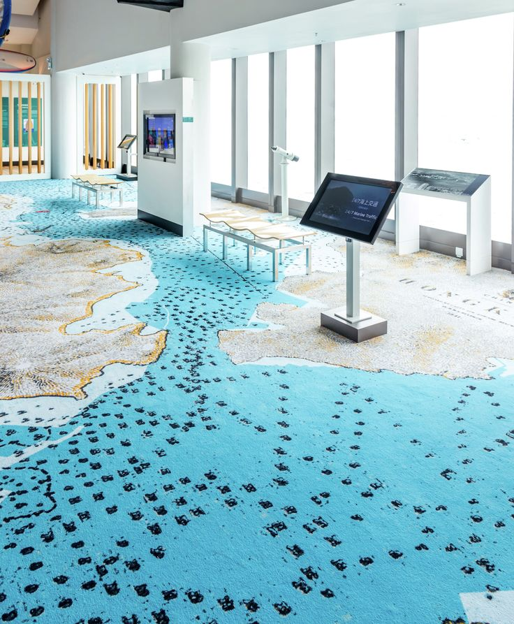 Location: Maritime Museum, China www.egecarpets.com