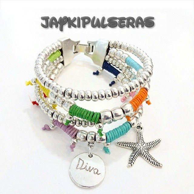 Buenos dias!!!! Diva brazalete estrella de mar 15€ Pedidos whatsapp 625051521