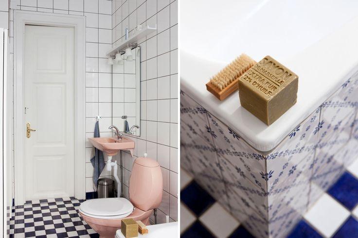 rosa toalett, bolaget fastighetsförmedling
