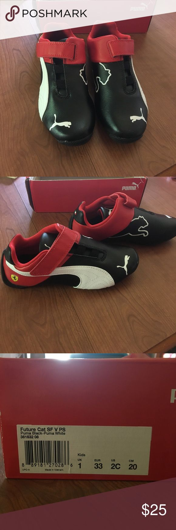 PUMA kids shoes Brand new, never been worn. Have box it came in with no lid. Puma Shoes Sneakers