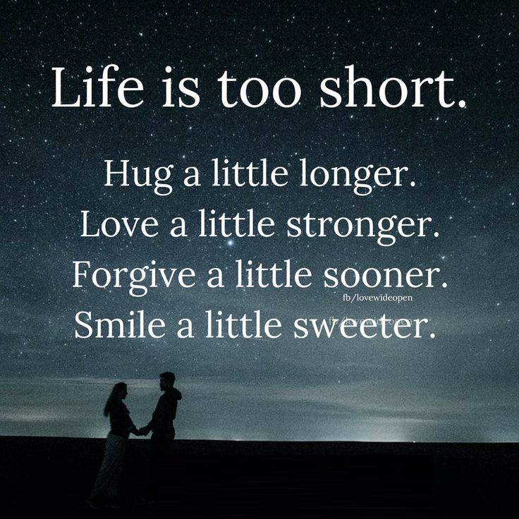 25+ Best Life Is Short Quotes On Pinterest
