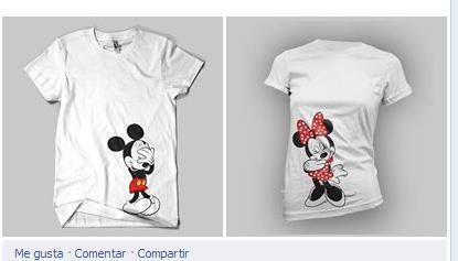 Camisetas Personalizadas Para Parejas a $ 120.Ropa, Bolsas y ...