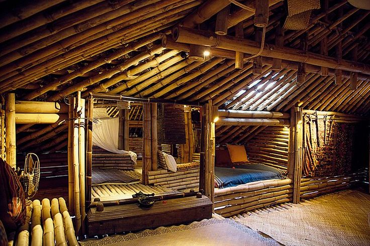 Sumba House interior at Bambu Indah by  Delight Fine Art