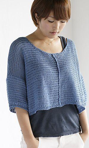 Ravelry: Scilla Summer Knit pattern by Pierrot (Gosyo Co., Ltd)