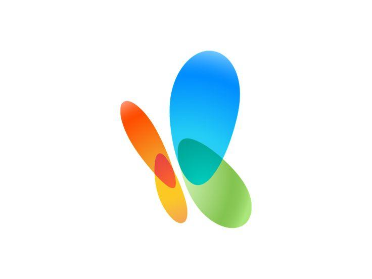 MSN logo butterfly