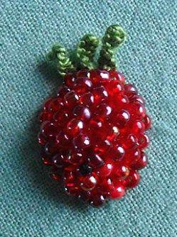 Tutorial: Stumpwork raspberry · Needlework News | CraftGossip.com