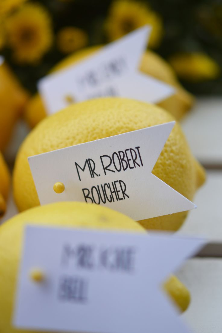 Delightfully Different Wedding Place Card Holders | Dollydrop