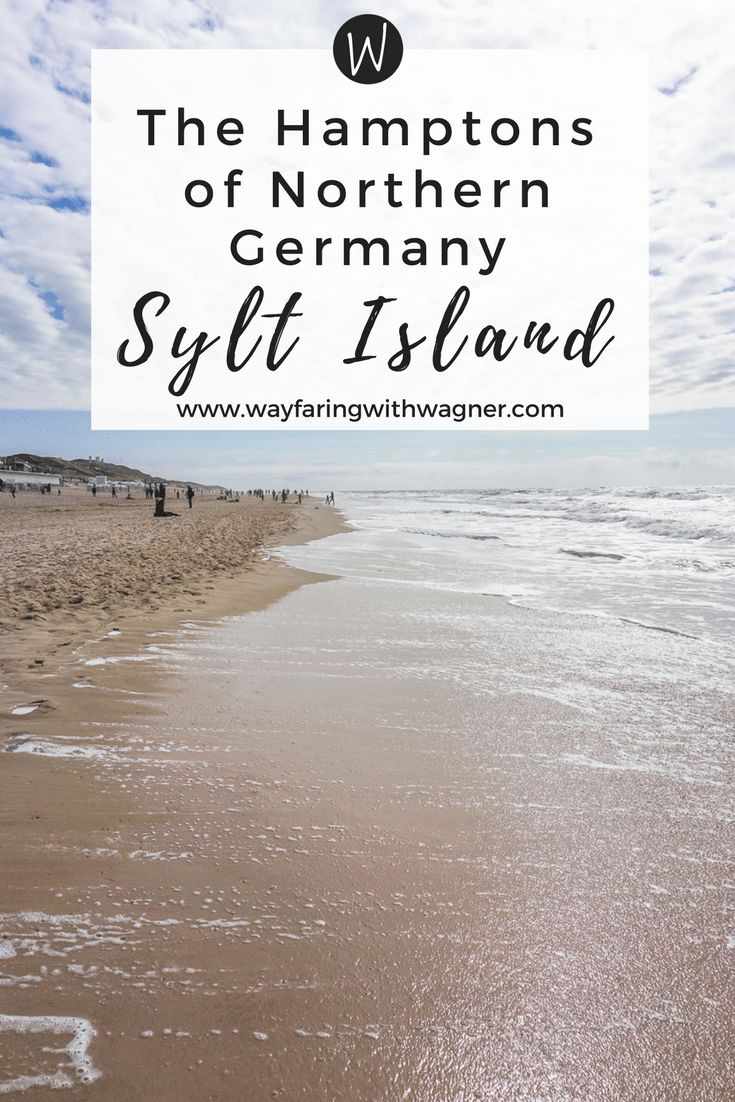 Affectionately called the Hamptons of Northern Germany, the island of Sylt is the ultimate paradise!