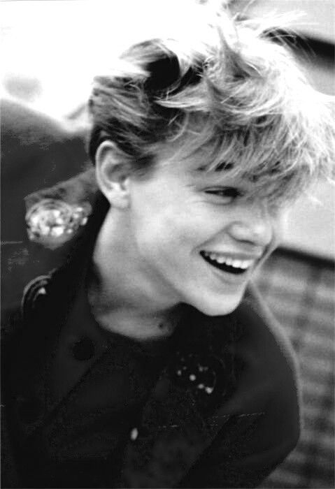 Young Leo Love to see him smile Leo Pinterest Love