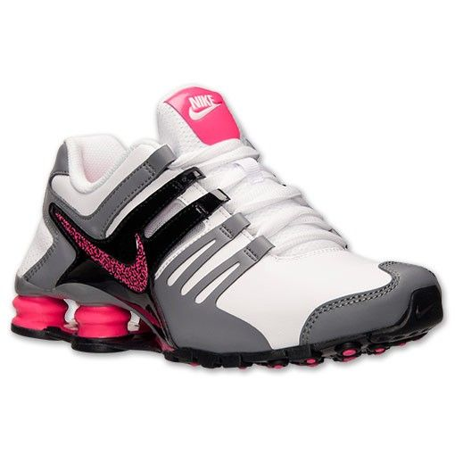 ivenda.com: Tênis Nike Shox Women's Shox Current Running White Hyper Pink Cool Grey 639657 10