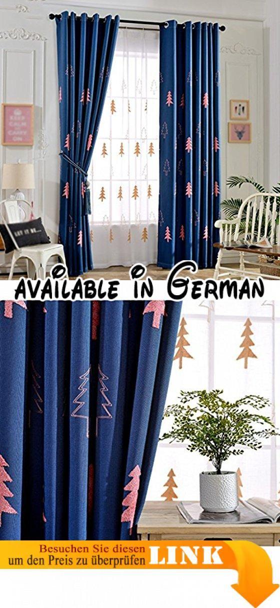 Die besten 25+ Blaue ösenvorhänge Ideen auf Pinterest Graue - gardinen muster für wohnzimmer